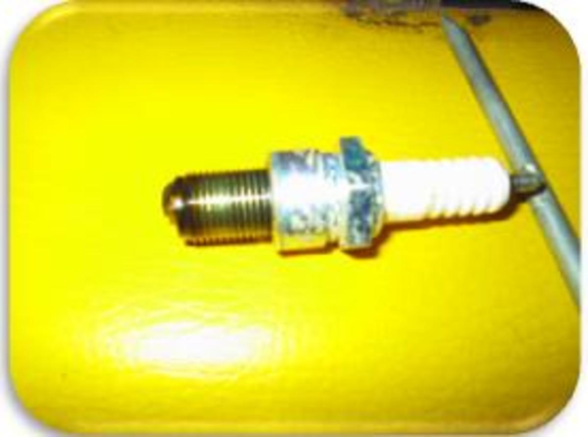 Figure 8 - Used Spark Plug