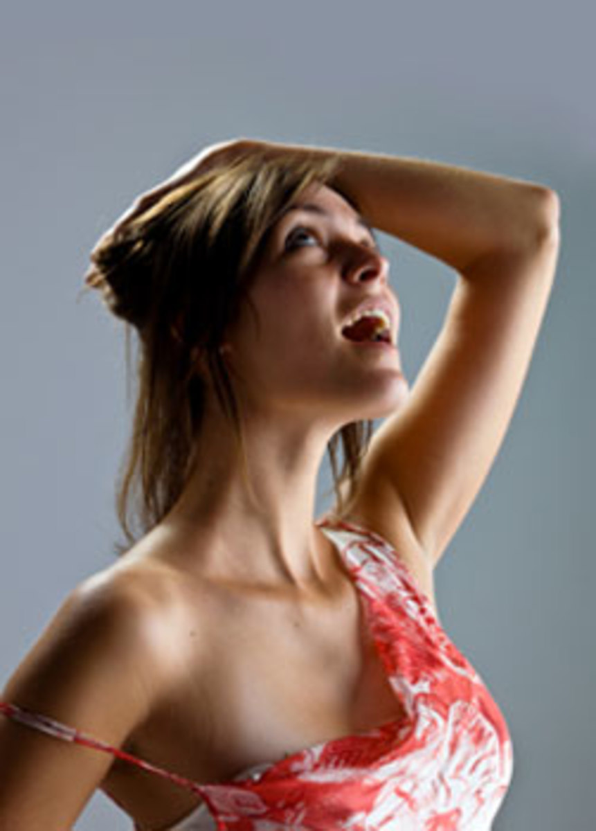 Clean and dry your armpits first!