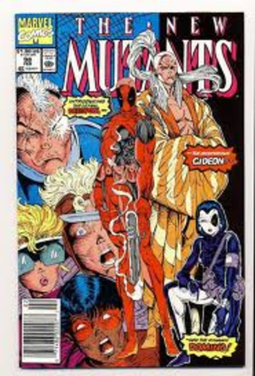 New Mutants # 98 1st Deadpool