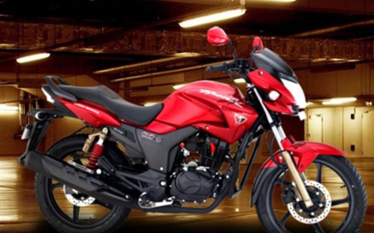 Hero Honda Hunk New Model 2011