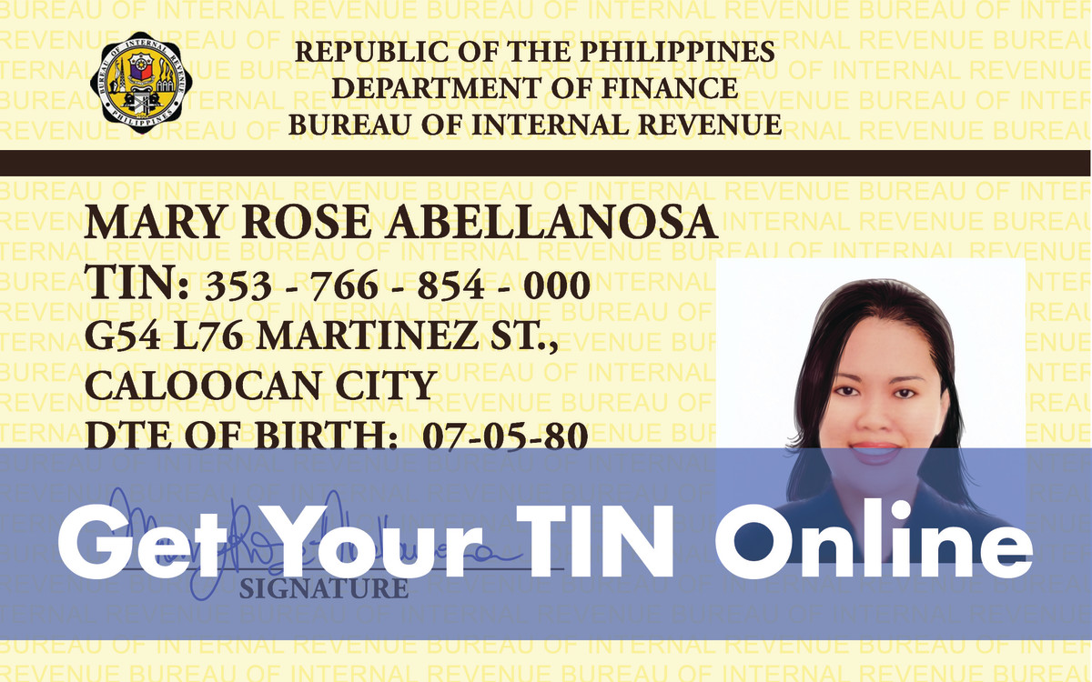 How to Get a TIN Online—Getting Tax Identification Number from the BIR