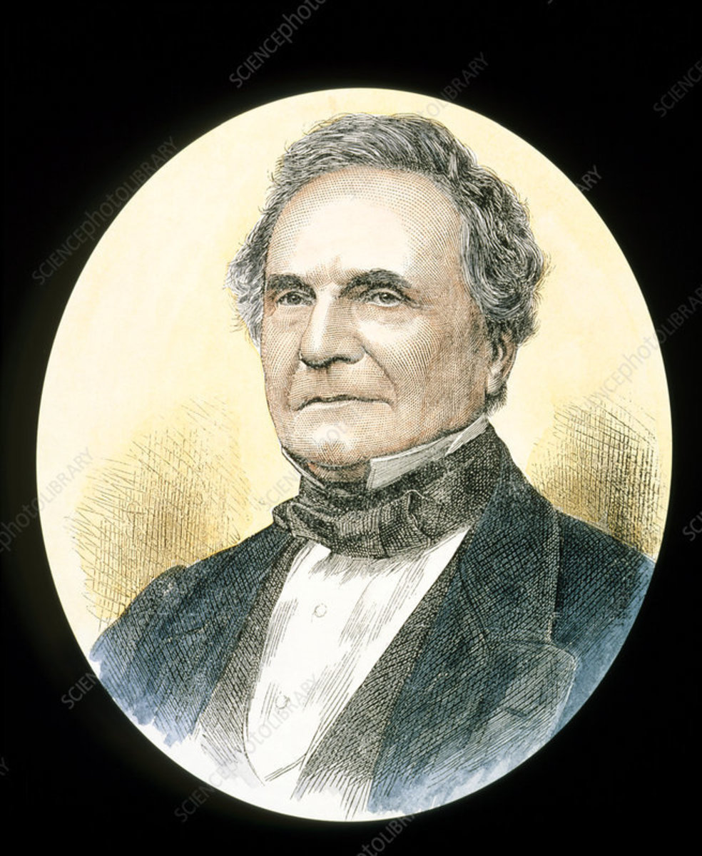 Painting of Charles Babbage