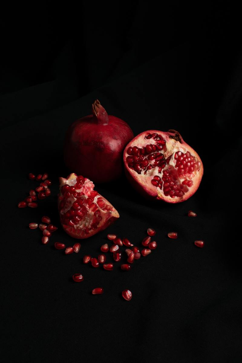 Instead of an apple, a pomegranate adorns the cover of this one. You'll have to read it to find out why!