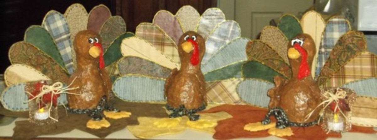 paper-mache-clay-turkey-craft