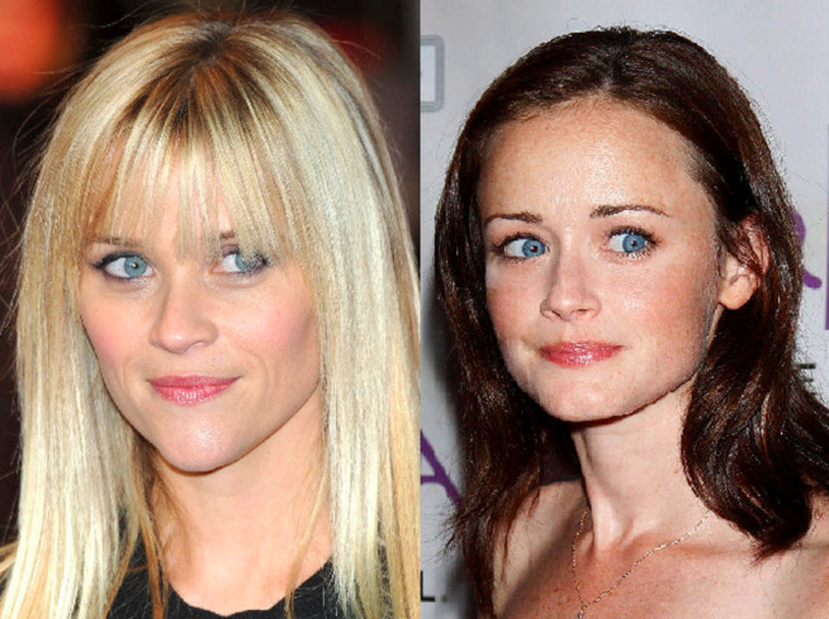 Reese Witherspoon and Alexis Bledel