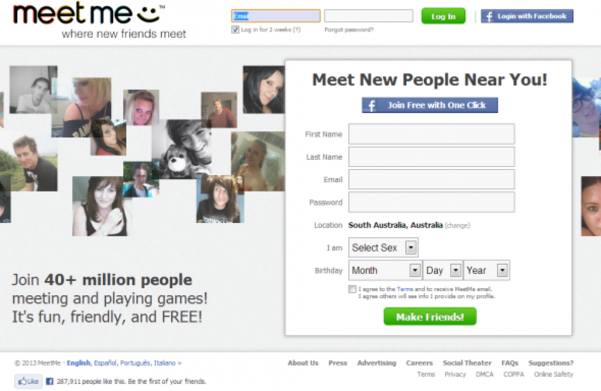 other dating sites like meetme Meet, chat, and go live on meetme meetme helps you find new people nearby who share your interests and want to chat now it's fun, friendly, and free.