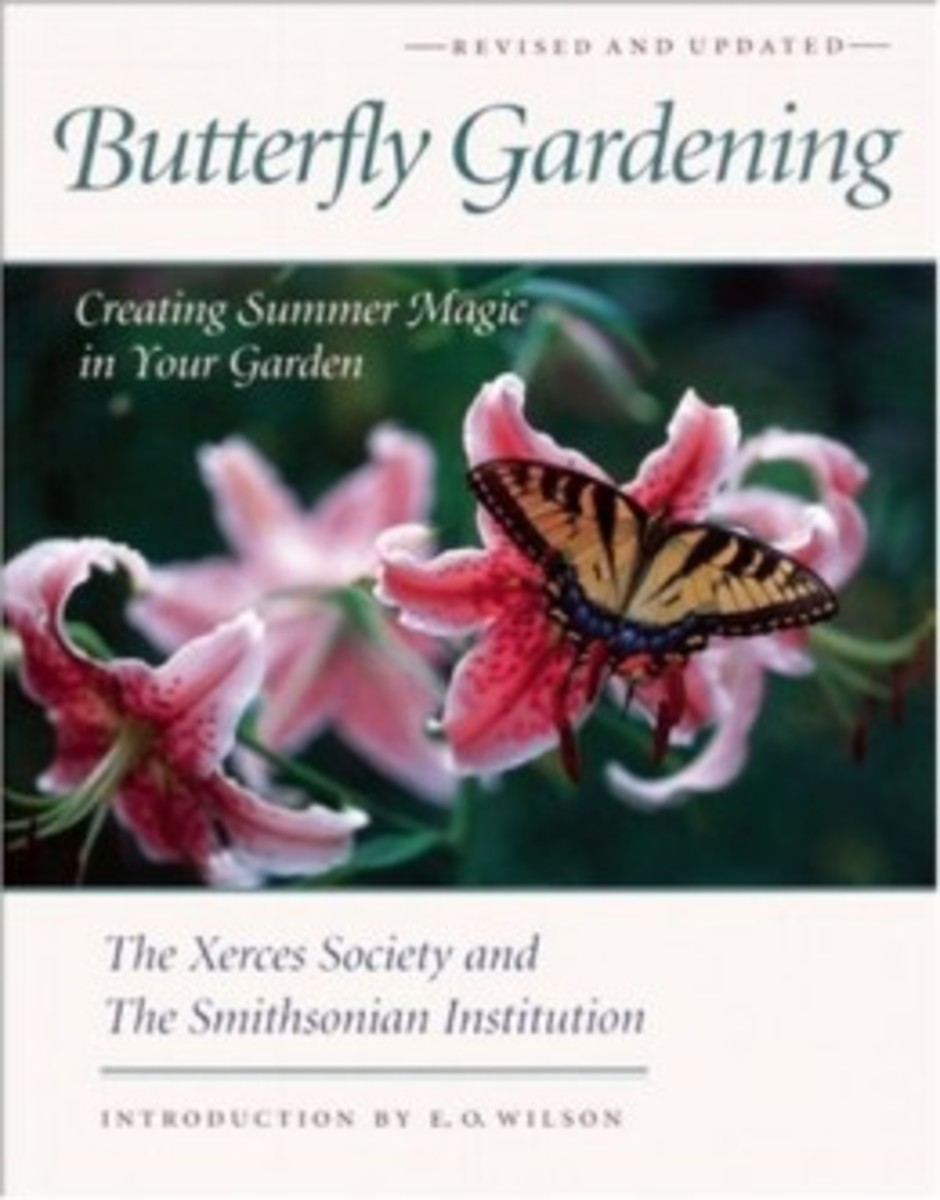 Butterfly Gardening Book from the Xerces Society and the Smithsonian Institution