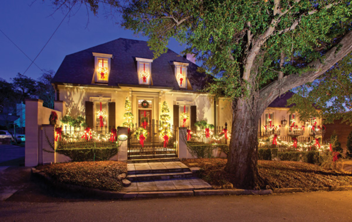 Glowing Christmas Decorations