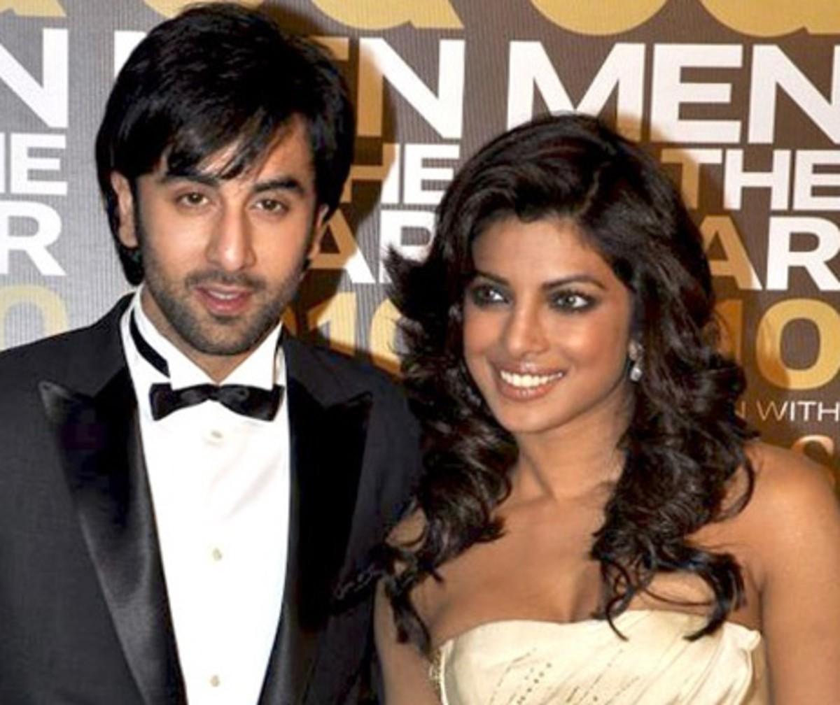Ranbir Kapoor and Priyanka Chopra at GQ Men Awards 2010