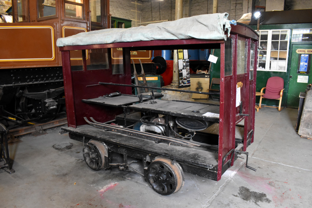 Darlington Railway Preservation Society has undertaken the restoration of this Wickham Trolley