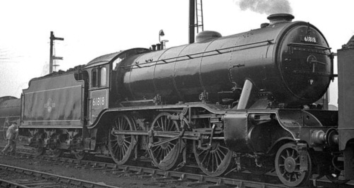Class K3/2 was allocated 1950-1958 to Heaton, Tyneside (52B)