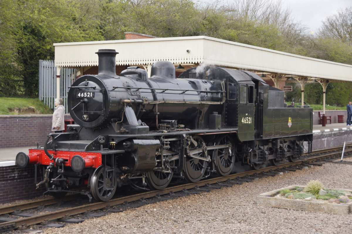 Preserved 46443 on the Severn Valley Railway