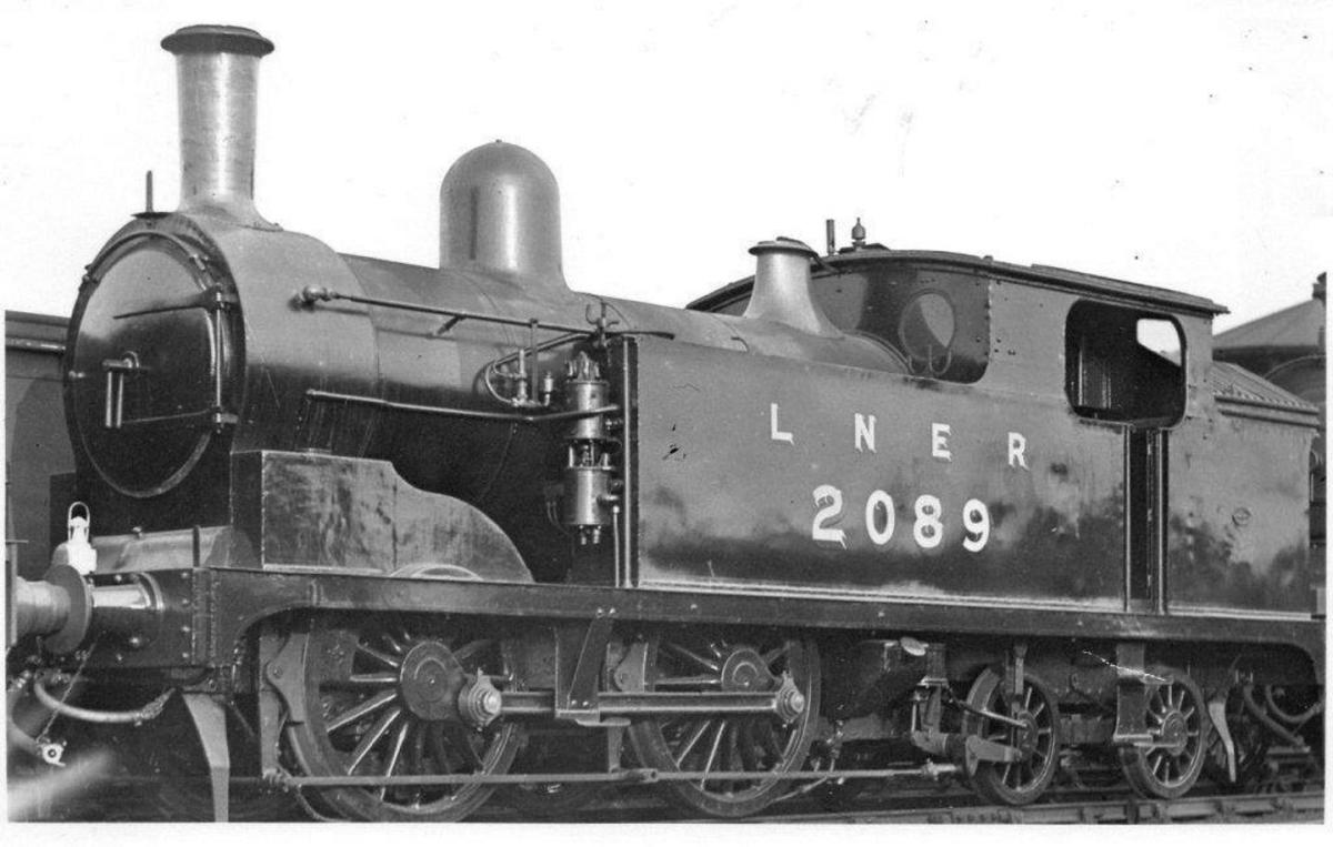 Post-Grouping scene, as LNER Class G5 No. 2089