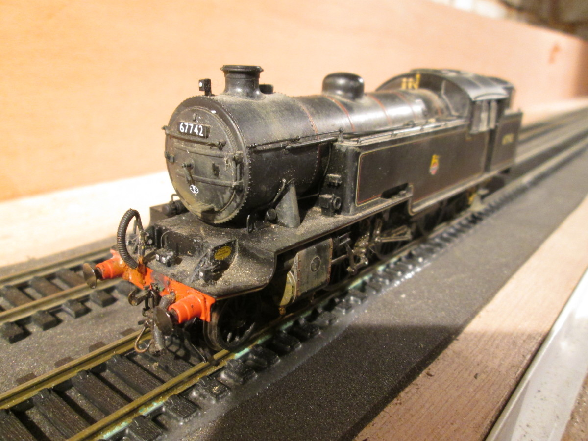 Here's my version, renumbered 67742 of Darlington shed (51A), complete with appropriate shed code on the smokebox door