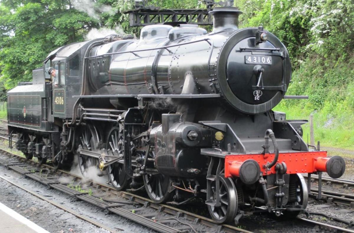 ', The one 'that got away, 43106 preserved on the Severn Valley Railway