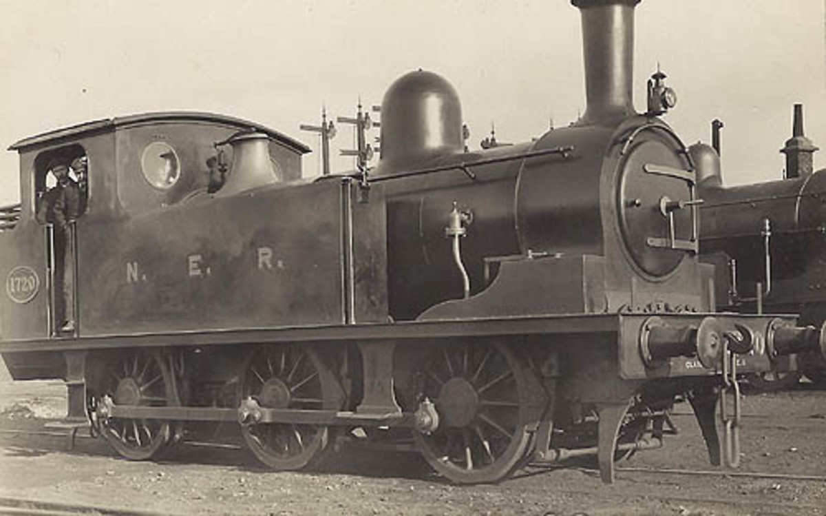 Original Wilson Worsdell design, NER Class E1 of 1898