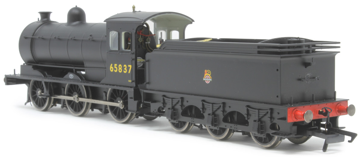 sporting a 'cycling lion' totem, here's the model with number 65837, a Percy Main allocation (52E) - possibly scrapped by 1965 as she was not on the transfer list on closure in February 1965