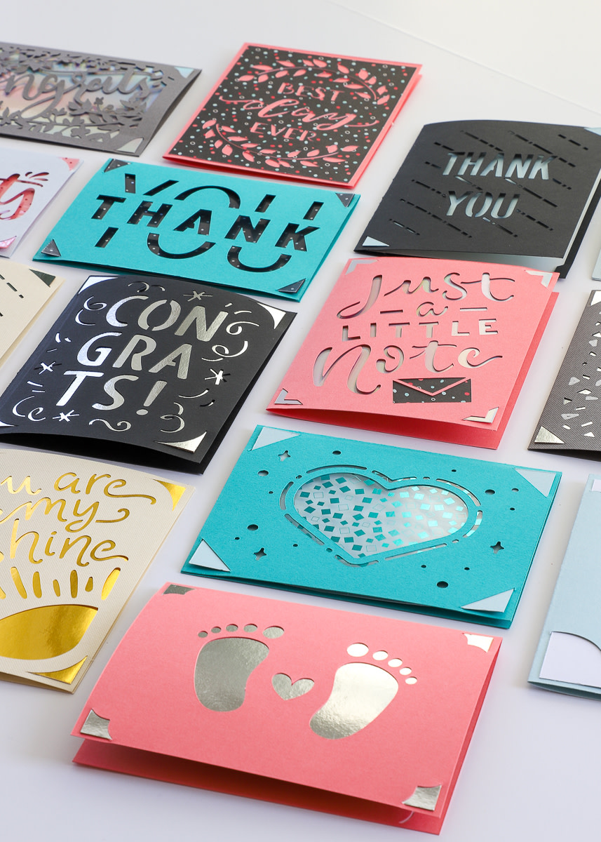 The Cricut Joy helps you make terrific cards in minutes
