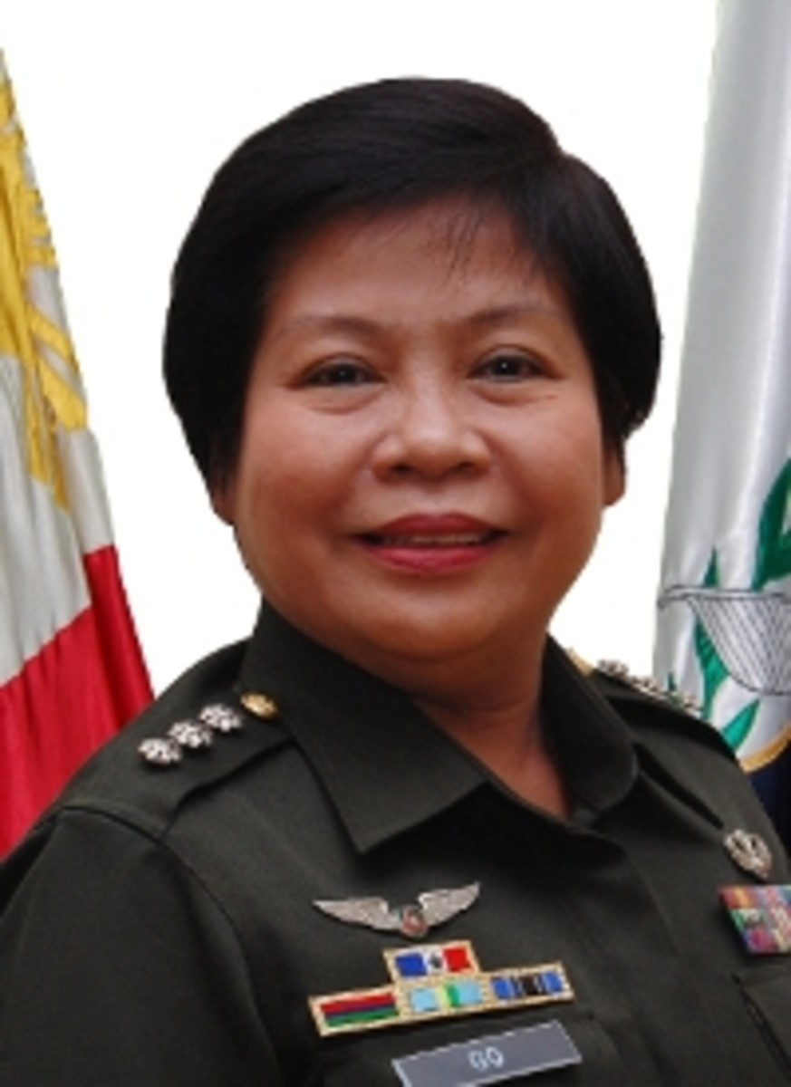 COL RAMONA P GO PA (GSC) 28th The Adjutant General, Armed Forces of the Philippines