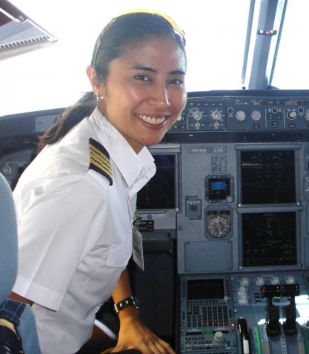 "CAPT. CATHERINE ""Brooke"" CASTILLO, First Filipino Woman Jet Aircraft Pilot"