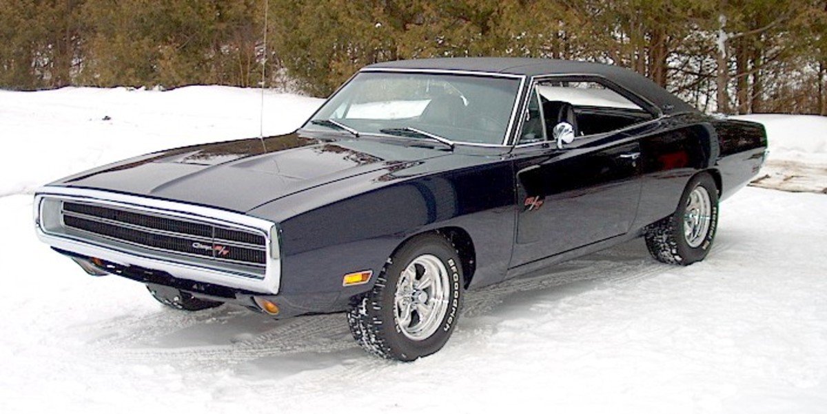 Classic Muscle Car Dodge Charger R/T
