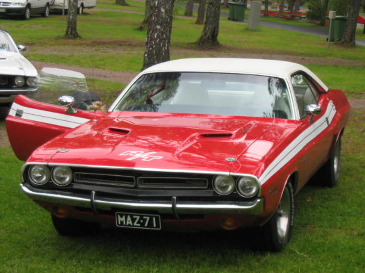 Classic Muscle Car Dodge Challenger R/T