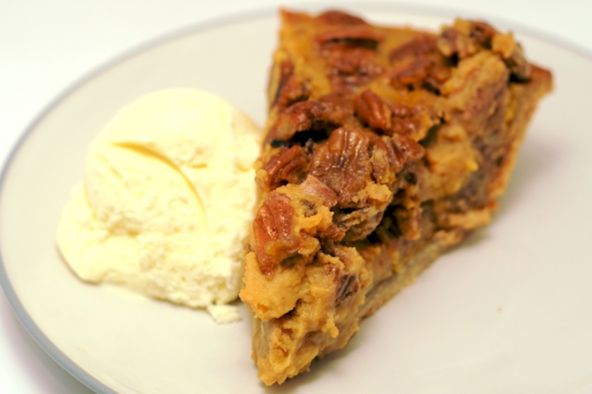 There really is nothing better than pecan sweet potato pie