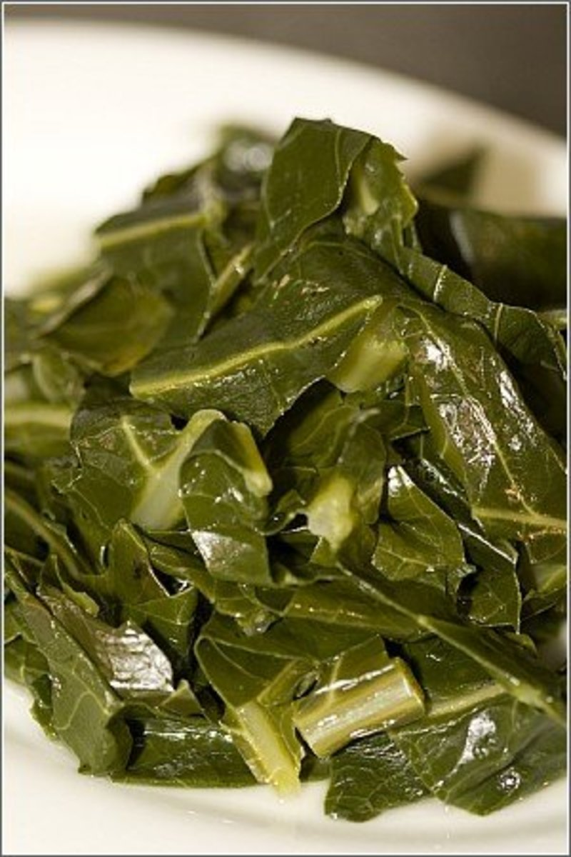 Collard Greens are good for you.