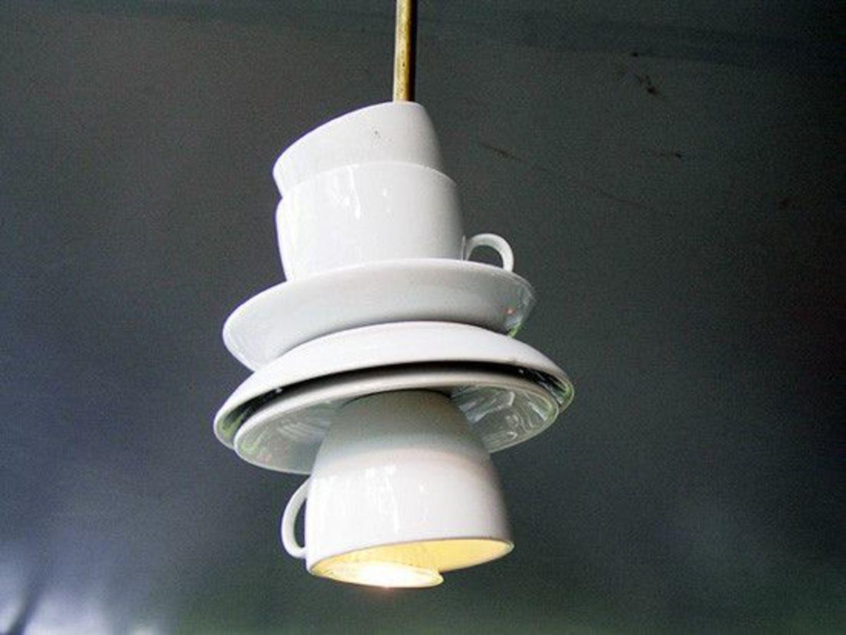 Unique Lamps As an Interior Element