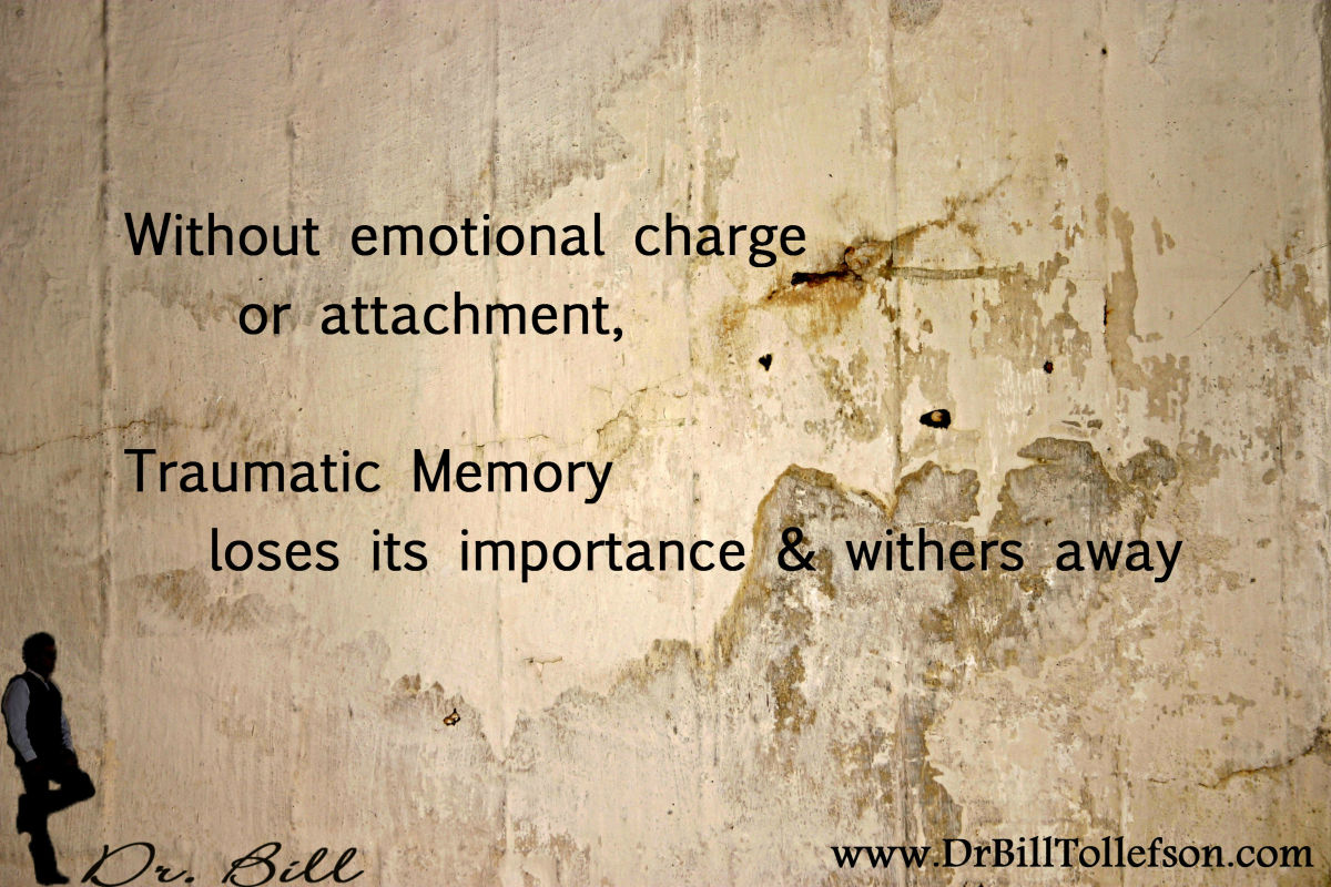 Emotional intensity and attachment makes the traumatic memory important