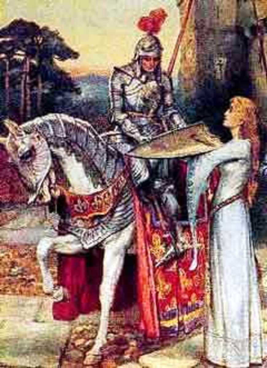 Romeo is seen as a courtly