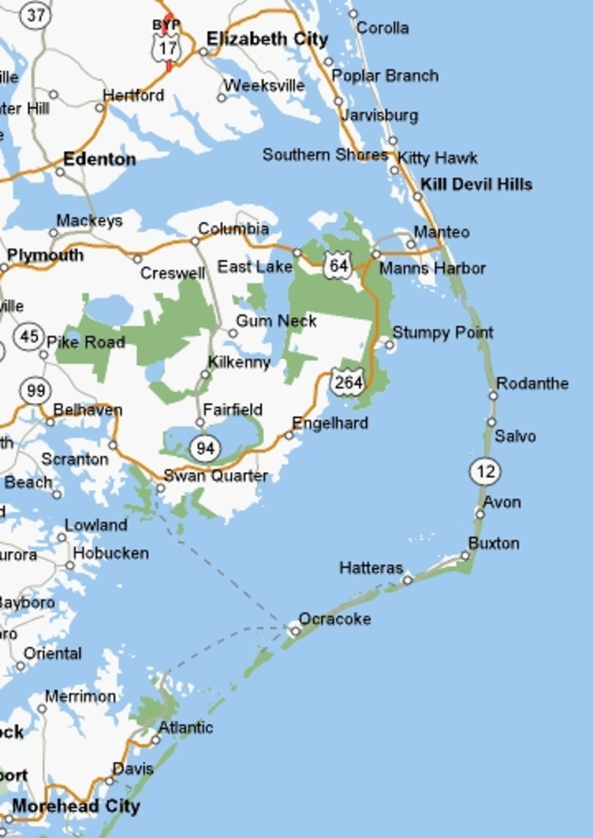 The North Carolina Outer Banks Are A Very Special Vacation Destination.