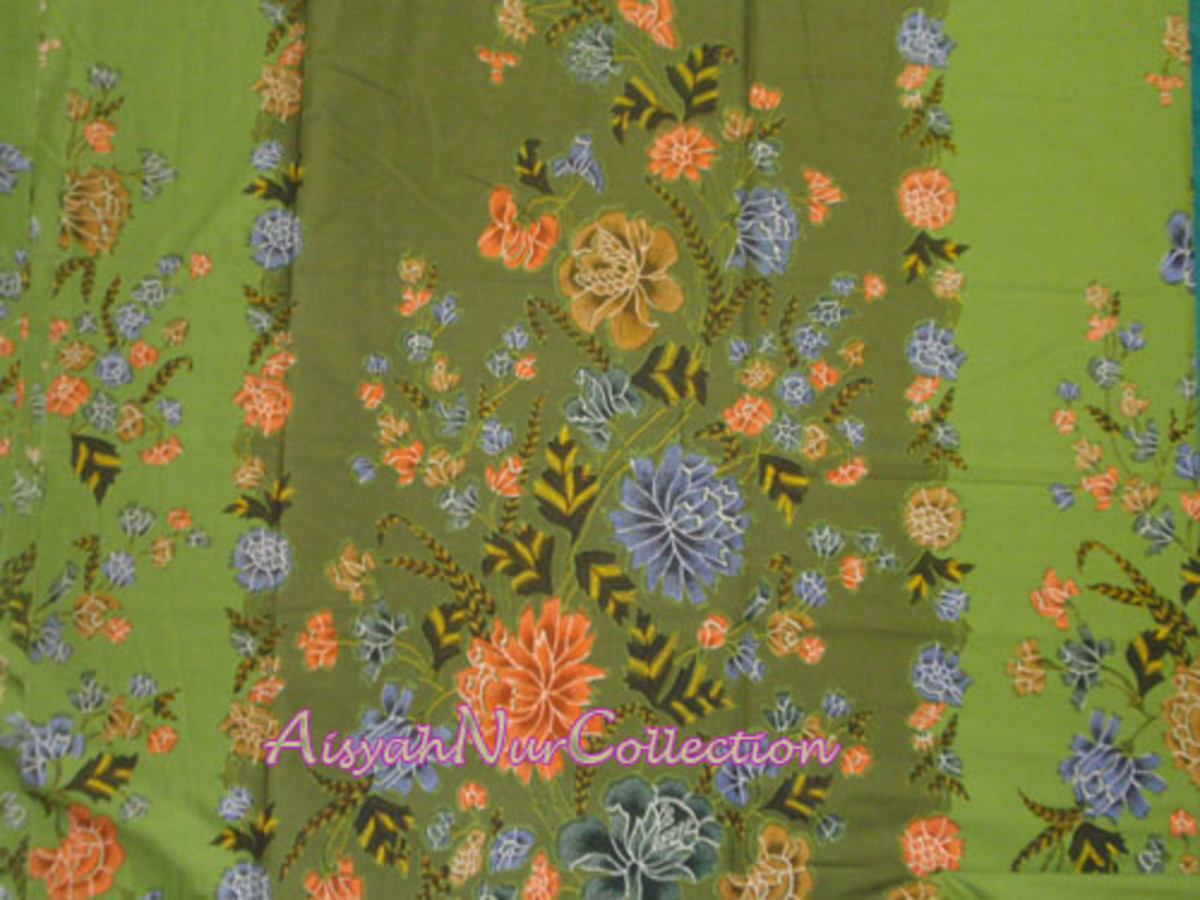 Batik (courtesy from AisyahNurCollection.com)