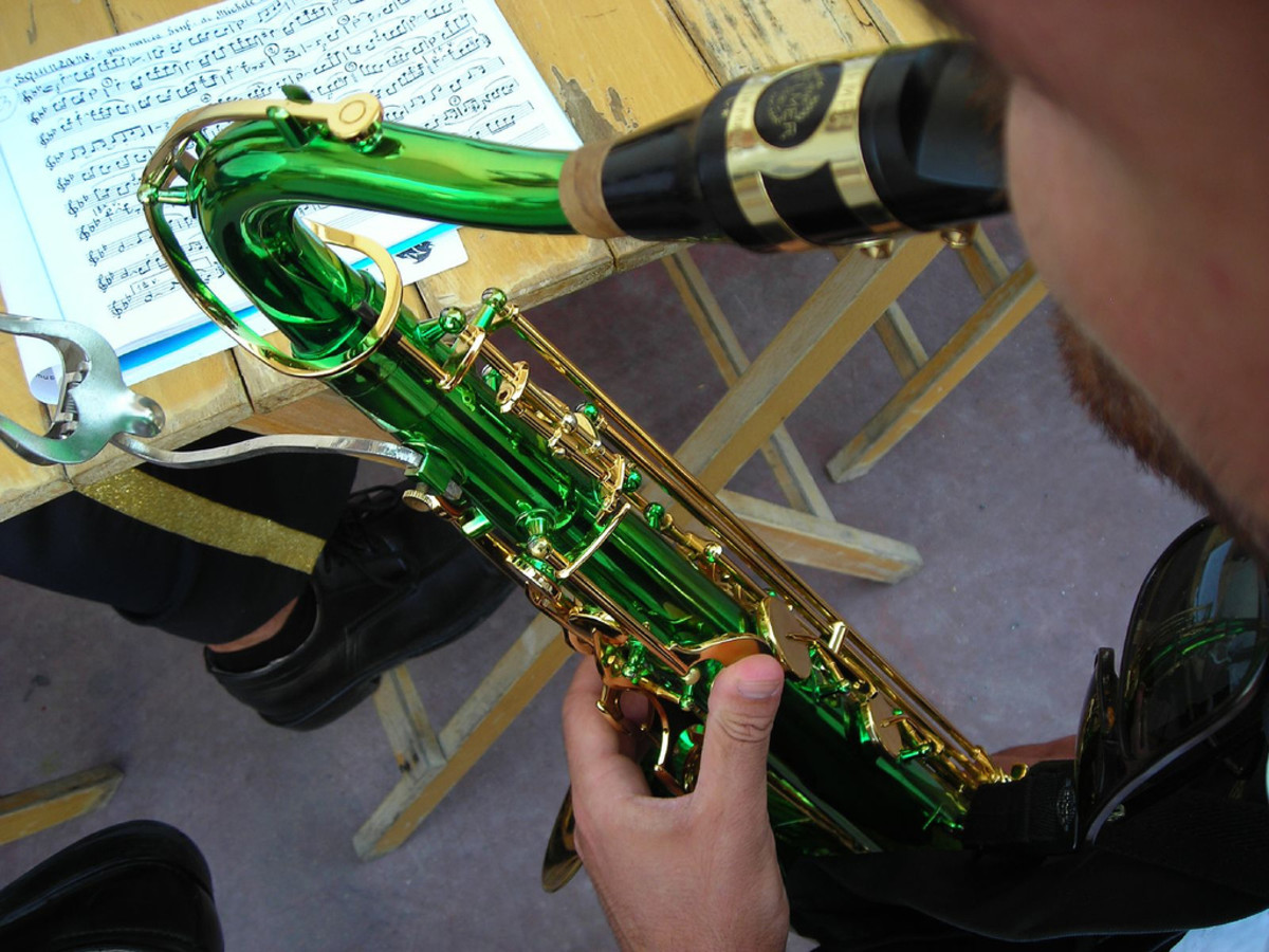 Green saxophones may look very appealing, but it does not just distract the band and the director - it can be an ISO.