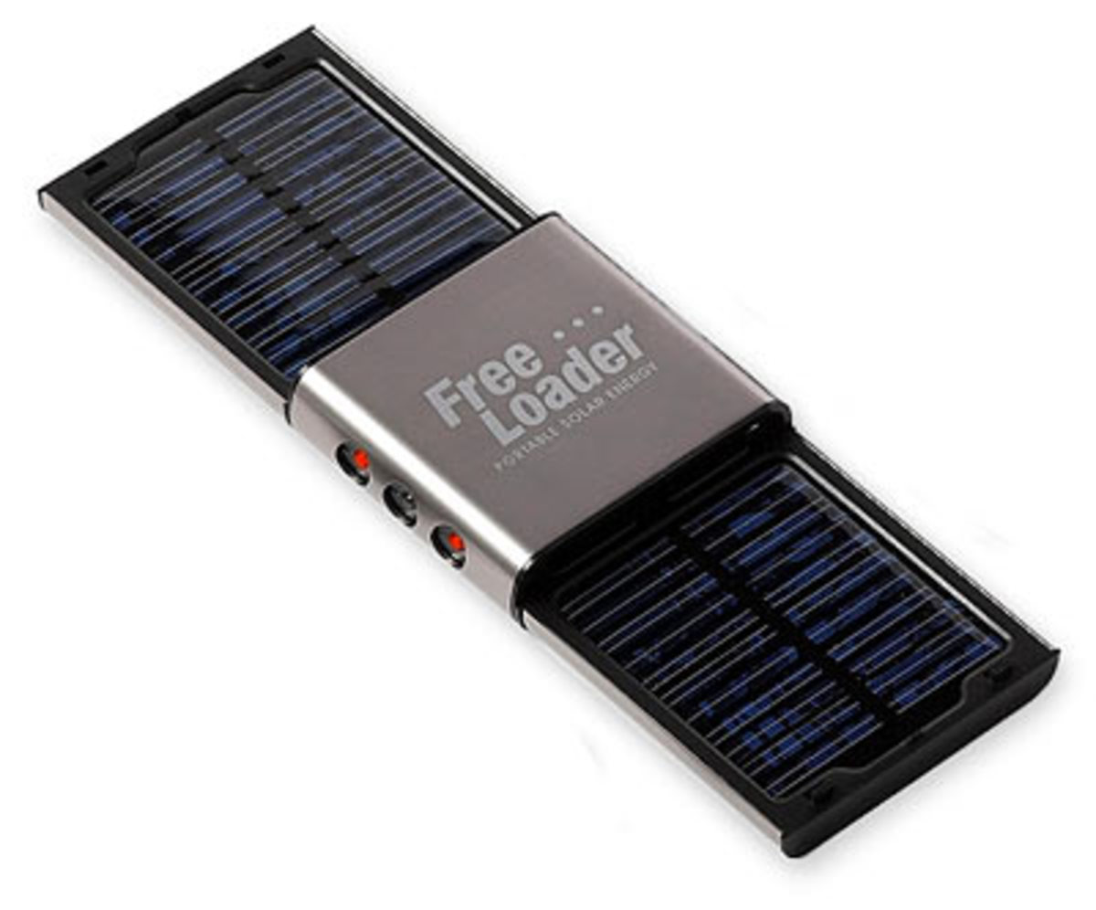 The freeloader is one type of convenient, easy portable solar charger