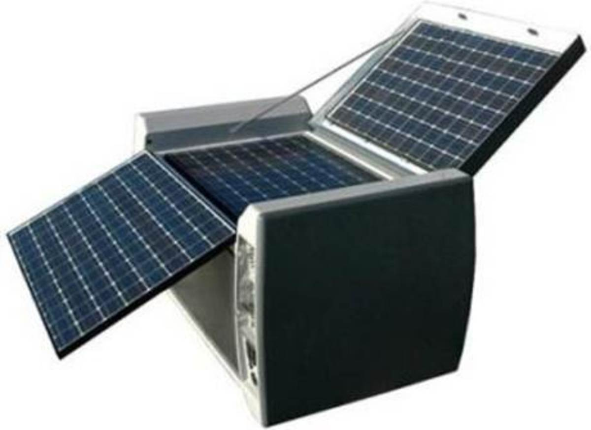 The power cube is useful both here and abroad to help keep lights on and important appliances running.