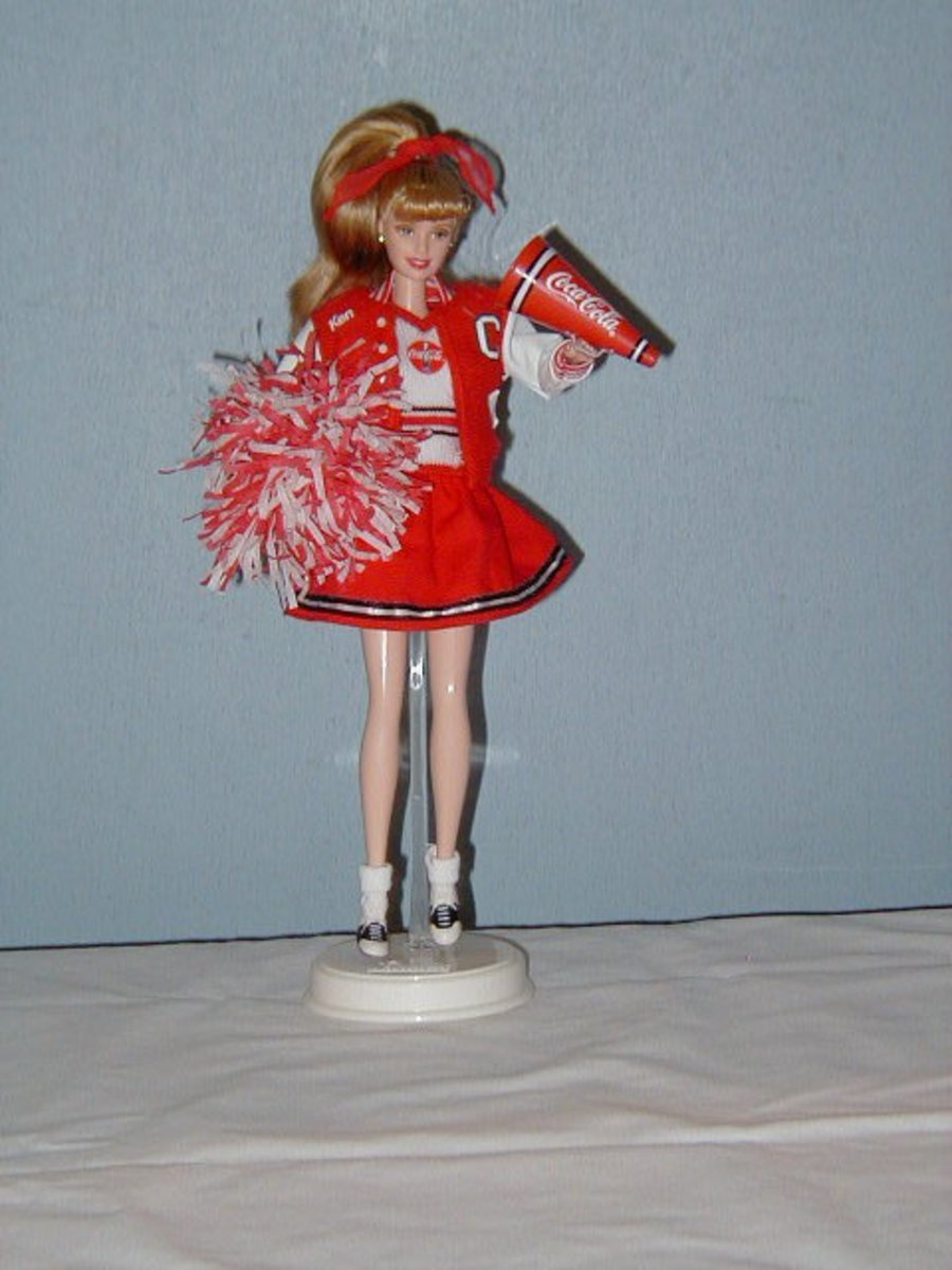 Coca Cola Barbie Doll
