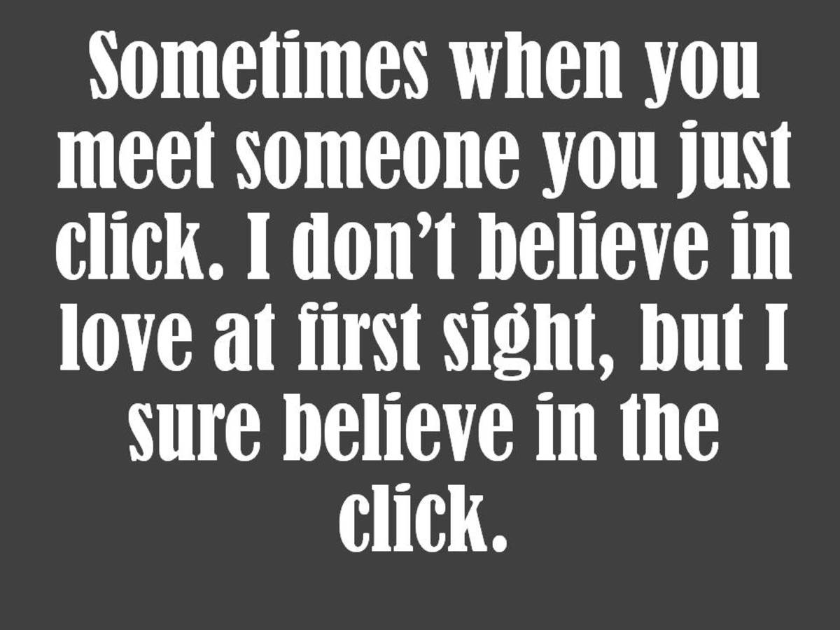 Movie Quotes About Love At First Sight : Love Quotes: Romantic Quotes about Love