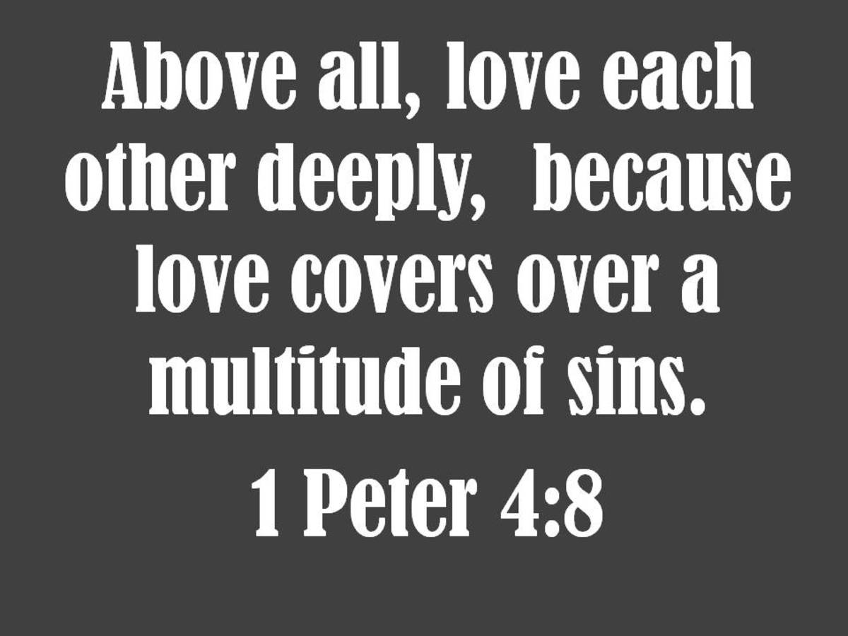 Love quote from the Bible