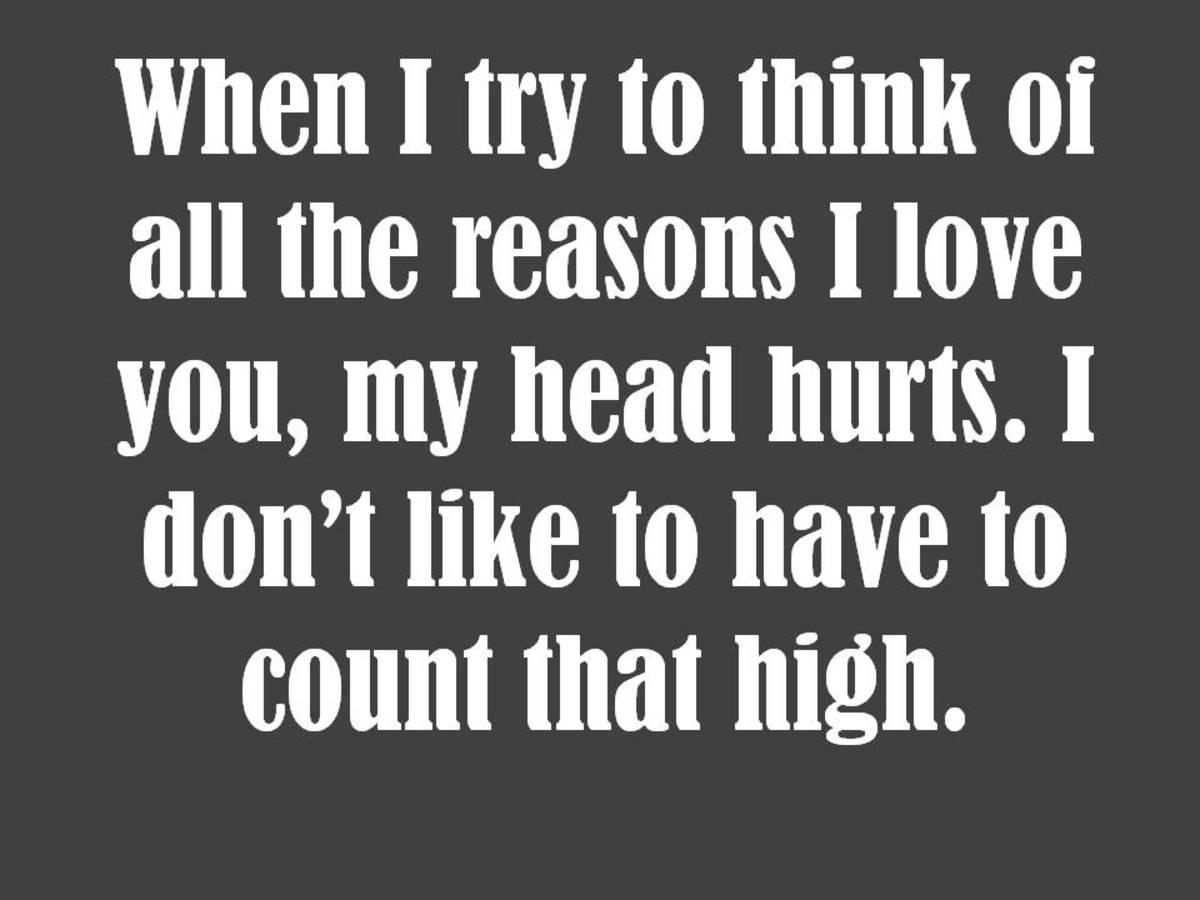 Math Love Quote