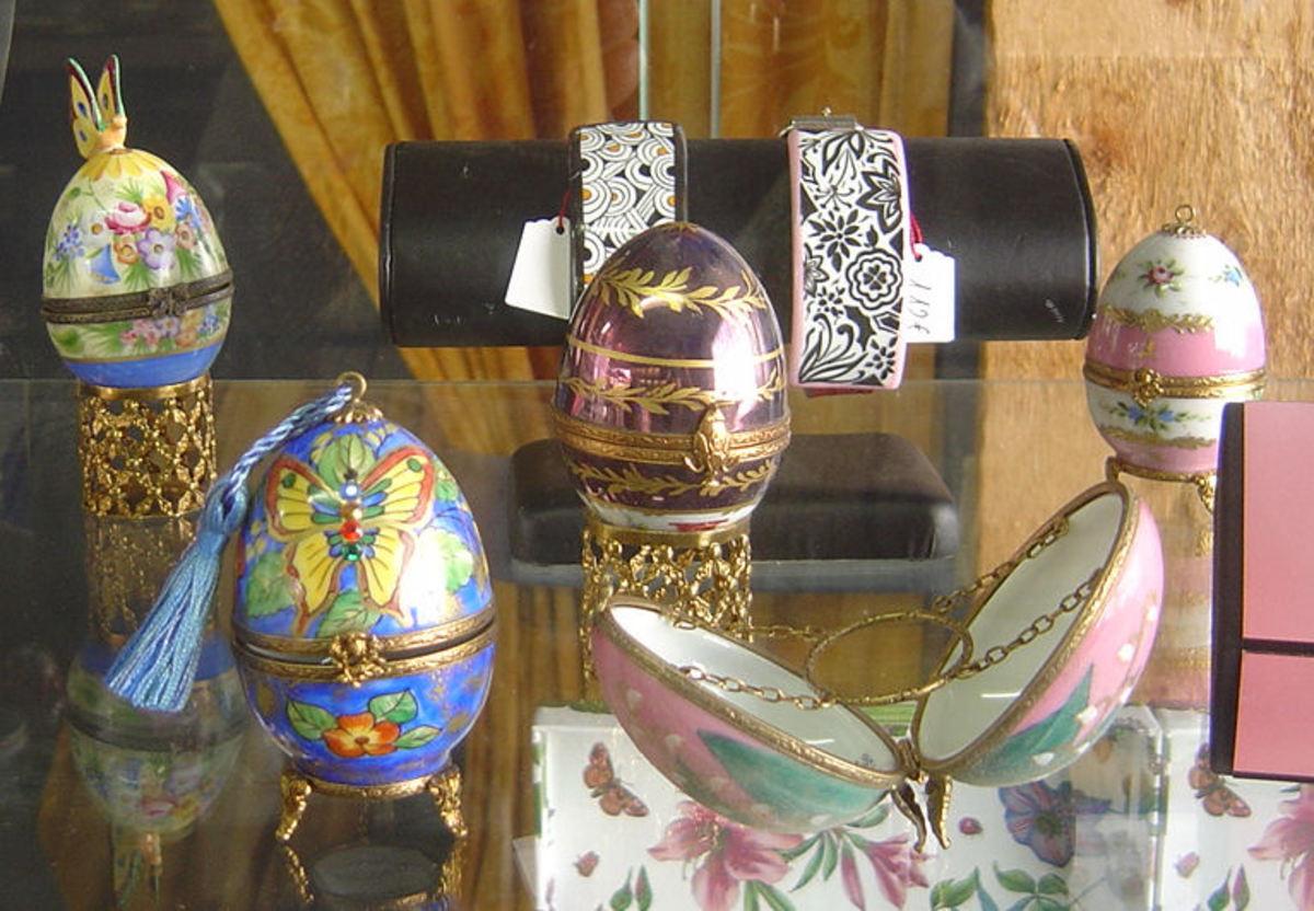 La Vie en Rose, Saint Junien - Porcelain eggs - perfect gifts for Easter