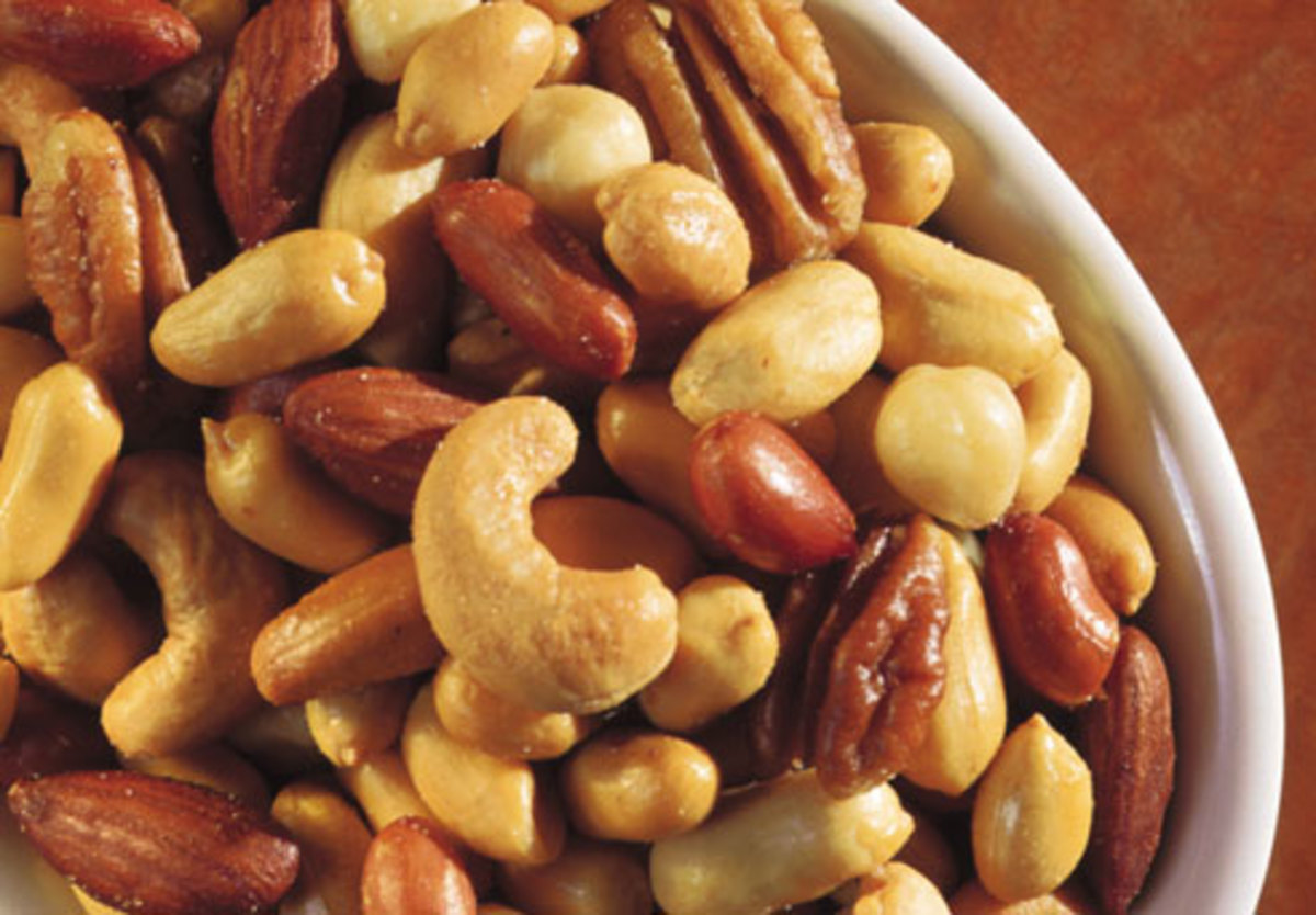 Healthy Snacking : All About Nuts