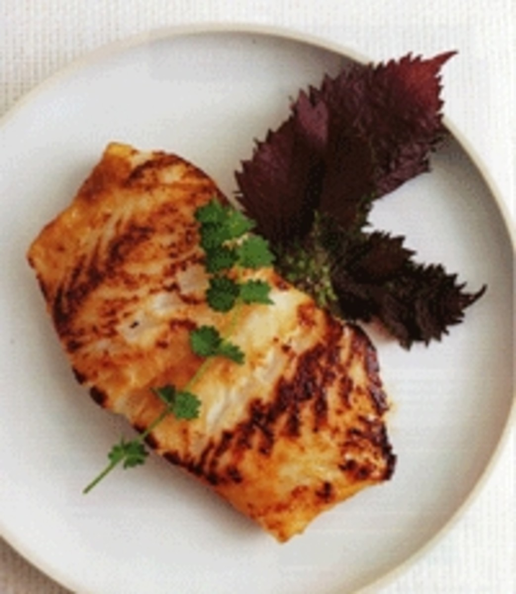 Best mirin glazed chilean sea bass recipe from top chef for Turkish sea bass recipe