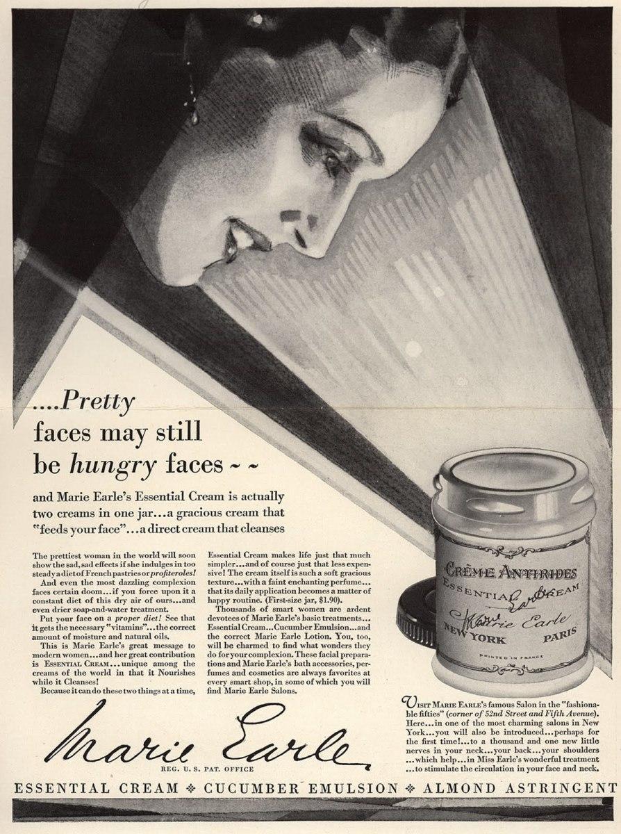 Art Deco inspired advertisement