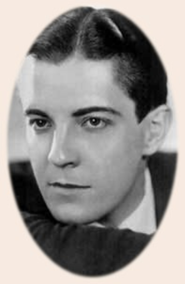Silent movie star Ramon Navarro