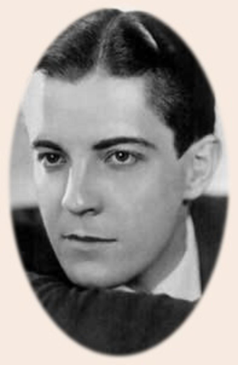 Silent movie star Ramon Navarro