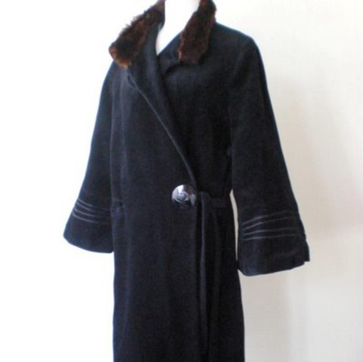 Typical 20's coat