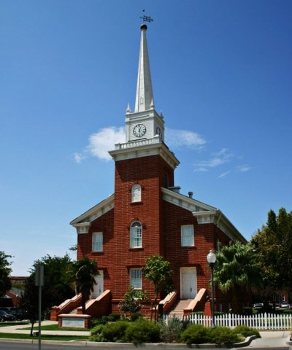 The St. George Tabernacle is a symbol of faith and determination.
