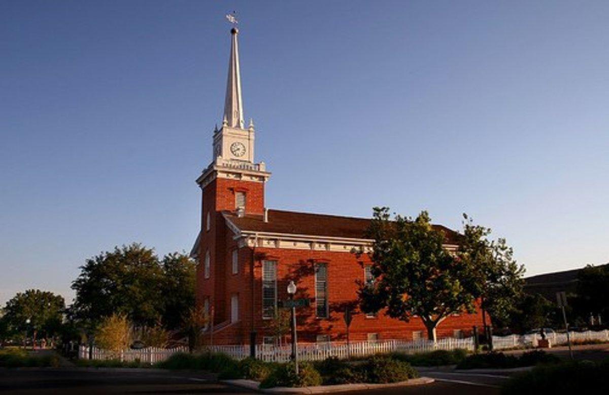 Mormon Historical Sites In St George Utah