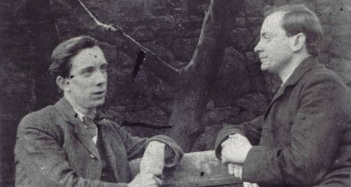 Brothers Patrick and William Pearse and the 1916 Easter Rising in Dublin